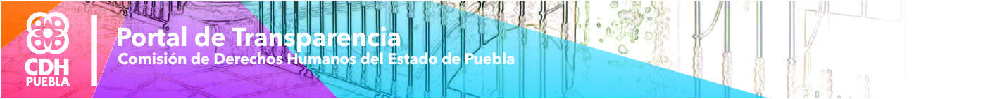 Portal de Transparencia de la CDH Puebla